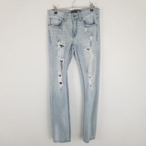 RSQ jeans size 28 Light blue Skinny tapered